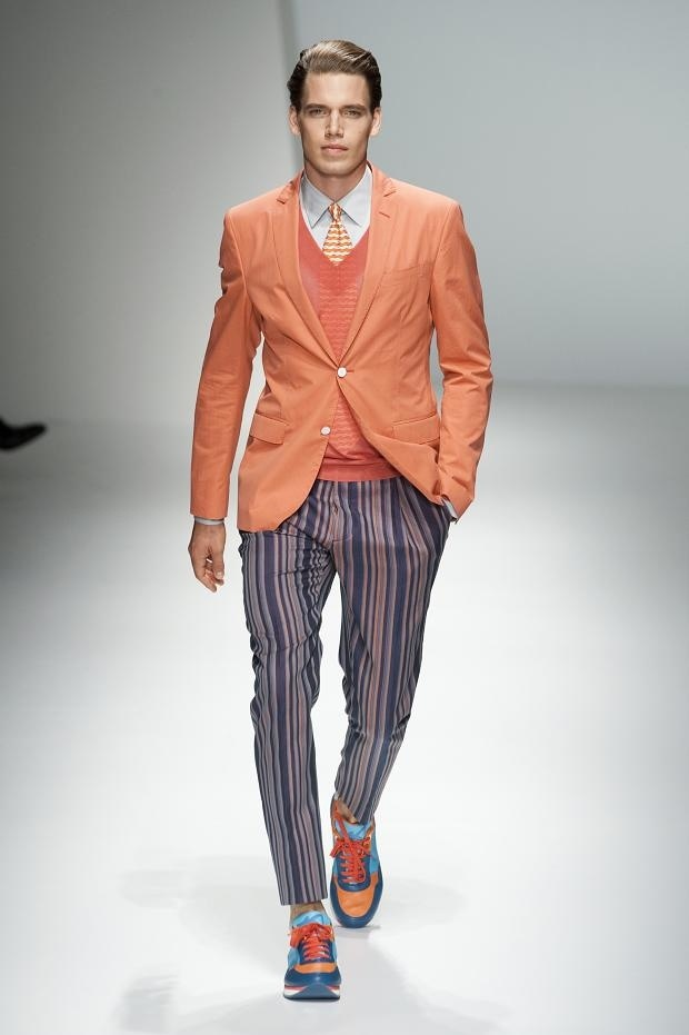 Salvatore Ferragamo Men Spring\/Summer 2013 - Through Ian